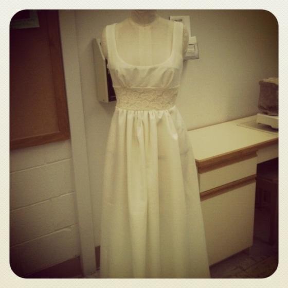 Wedding dress for a friend 2013